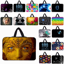 "Computer 10"" Mini PC Tablet Fashion Skull Face Inner Bag For Apple iPad 1 2 3 4 Neoprene Laptop Bags For Chuwi Huawei 10.1""(China)"