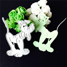 Metal cutting dies dog for Scrapbooking album home decoration embossing stencils cut dies