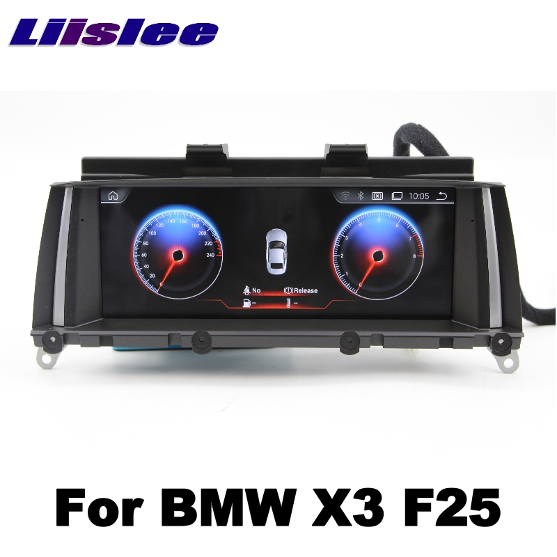 For BMW X3 F25 2011~2013 LiisLee Car Multimedia GPS Audio Hi-Fi Radio Stereo Original Style For CIC Navigation NAVI 02