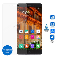 For Elephone P9000 Lite Tempered glass Screen Protector 9h 2.5 Safety Protective Film on P9000Lite P 9000 pelicula de vidro