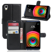 For LG X Power K220DS Case Flip Wallet PU Leather Phone Cases For LG X power K210 K220 LS755 Cover Fundas Holder Stand Phone Bag(China)
