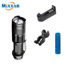 RU LED Flashlight Bike Bicycle light 3500LM CREE XM L2 practical High Power 5-modes Zoomable LED bicycle light lantern to bike
