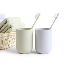 Women/men Plastic Cup Toothbrush Cup Washing Set Couple Mouthwash Cup Cylinder 4 Color(China)