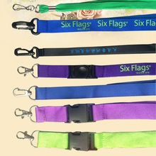 custom lanyard sublimated lanyard logo lanyard price list mass production heat transfer