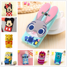 3D Cartoon Soft Silicone Case for Samsung Galaxy S3 S4 S5 S6 S7 edge S8 Plus Grand Prime A3 A5 J1 J3 J5 J7 2016 2015 2017 Cover(China)