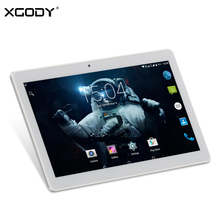 Origional XGODY K109 10.1 Inch 4G LTE Phone Call Tablet Android 5.1 MTK MT6735 Octa Core 2G+32G 8.0MP 1920*1080 10 inch Tablet