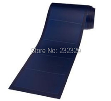 Thin film flexible solar panel on boat 136W , high efficiency suitable for solar home system good performance at low light.
