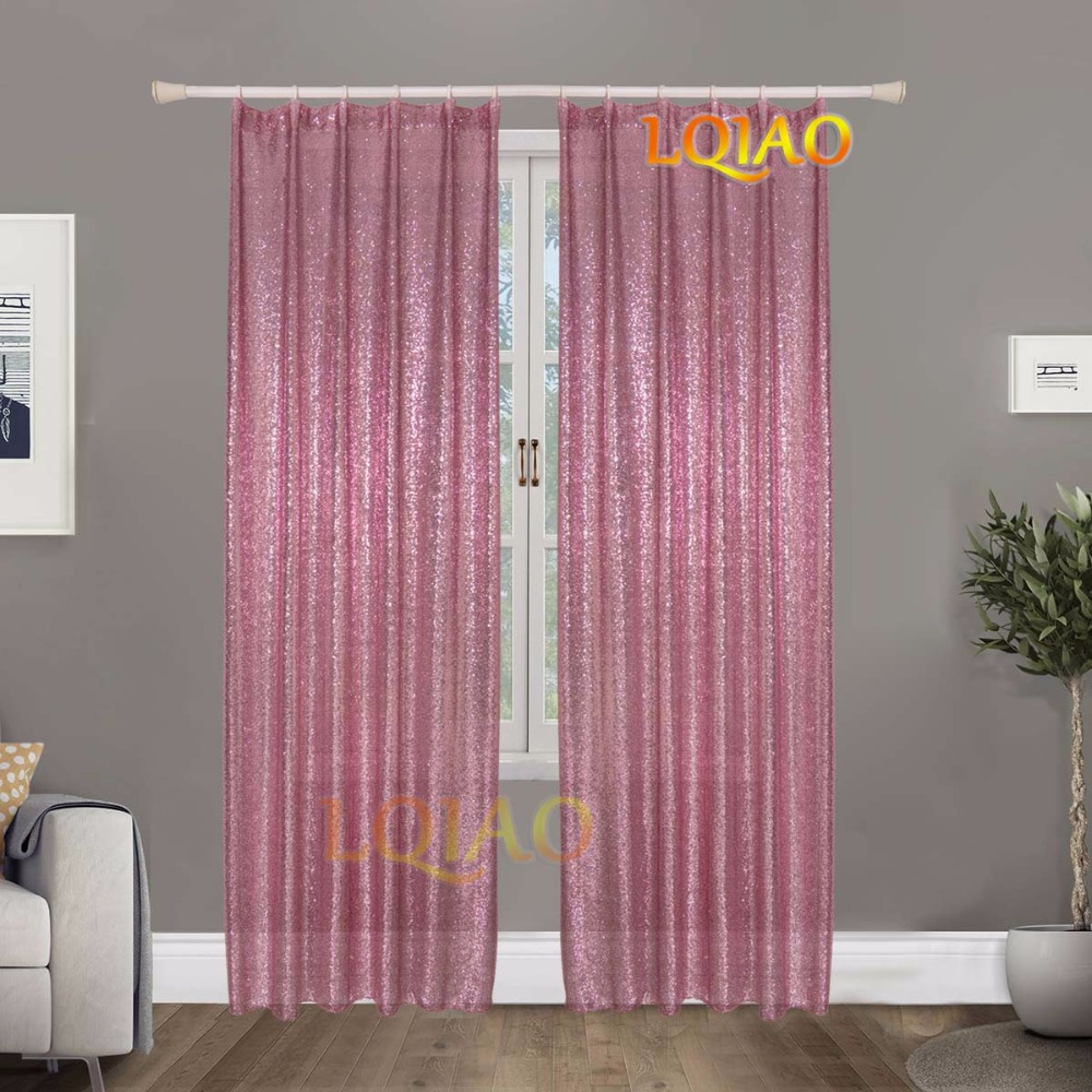 Pink Gold Curtain-1
