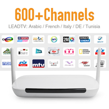 IPTV Android Tv Box Media Player DDR3 1G Flash 8G WIFI with IPTV Subscribe Arabic French Spain Sport News IPTV Channel VOD