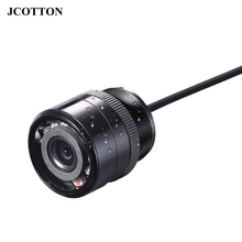 JCOTTON 12V Waterproof 28MM HD Infrared Car Parking Rear View Camera Cable Auto Reverse Back Up Camera For Trunks Car Styling