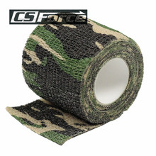Elastic Stealth Military Waterproof Hunting Camouflage Tape For Gun Paintball CS War Airsoft Refle,Shooting Camping Travel Kit