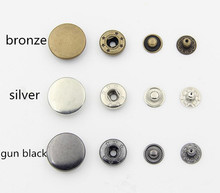 2018New Decorative Buttons Scrapbooking One Setting Tool + 100sets 10mm/12mm/15mm/17mm/20mm Snap Fastener Rapid Rivet Button(China)