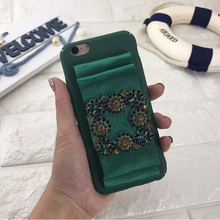Hot Stylish New Nice Luxury Fashion Bow Jewelry Crystal Diamonds Hard PC Cover for iphone7 7Plus 6 6S Plus Phone Case Back Cover