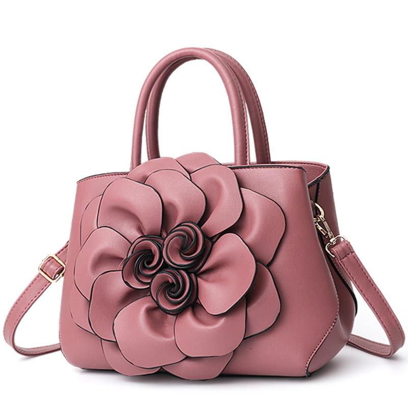 Nevenka Handbag Women Floral Handbags Small Shoulder Bags Leather Crossbody Bag for Women Handbags Purses and Handbags 201813