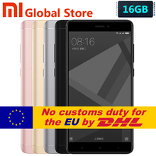 "Original Xiaomi Redmi Note 4X 3GB 16GB  Mobile Phone Redmi Note4 X 3GB 16GB Snapdragon S625 Octa Core 5.5"" FHD Fingerprint ID"