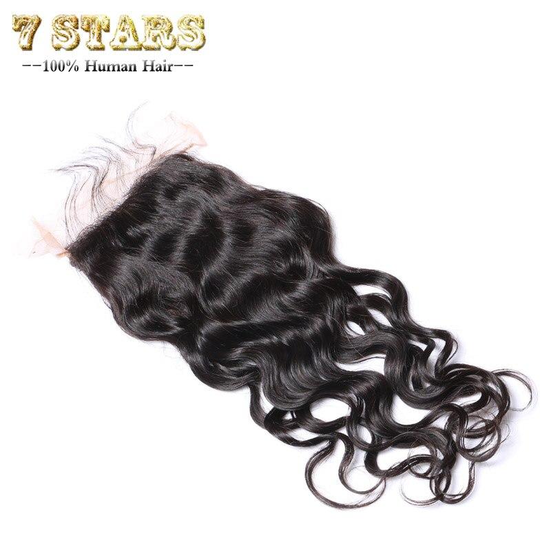 Peruvian Virgin Hair Natural Wave Human Hair Closure 7A Unprocessed Virgin Hair Peruvian Hair Top Lace Closure  Bleached Knots<br><br>Aliexpress