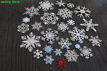 DIY High quality The embroidery patch Silver snow flakes patch for bag clothes Cloth art The curtain The skirt(China)