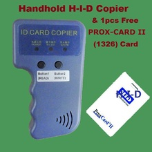 Handhold Portable 125khz RFID H-ID PROX-CARD PROX-KEY Card Reader Writer Copier Duplicate Duplicator Compatible EM4305 T5577