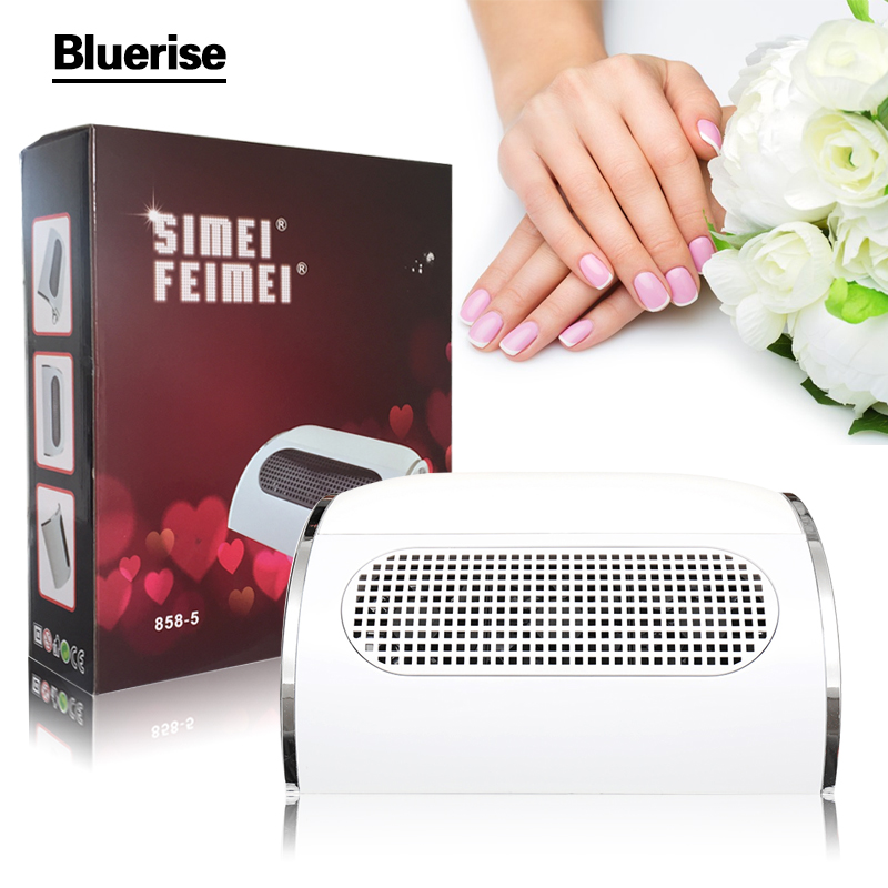 New EU Plug Nail suction Dust Collector Machine Vacuum Cleaner With 3 Fans + 2 Bags Manicure Filing Acrylic Powerful Dust Tools(China (Mainland))
