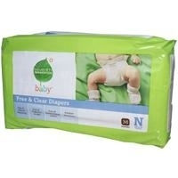Seventh Generation Baby Diapers Chlorine Free Newborn Up to 10 lbs. 36 count 220954 (1)