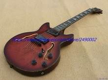 High Quality jazz ES339 customised Electric Guitar,ebony  fingerboard,wine red,black parts,free shipping!