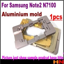 1pcs 2015 New coming For Samsung Note 2 N7100 mould aluminium metal mold nice quality(China)