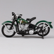 Maisto 1:18 1936 EL KNUKLEHEAD Die-casts Model Bike with original NEW IN BOX Free Shipping 2#(China)
