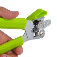 Electro galvanized head New Design Tin Can Opener Stainless Steel Construction Opener PP handle