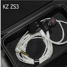 KZ ZS5 ZS3 Ergonomic Detachable Cable Earphone In Ear Audio Monitors Noise Isolating HiFi Music Sports Earbuds With Microphone
