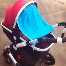 Cotton Baby Stroller Sun Cover & Rain Cover Portable Baby Sunshade Covers Sunshield Sun Canopy Stroller Accessories(China)