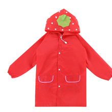 Oxford Cartoon Lovely Raincoats Kids Boys Girls Waterproof Outdoor Travel Rain Gear Household Accessories Supplies Products Item
