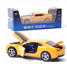 FreeShipping 1:32 Chevrolet division camaro 1:32 alloy car model toy car sports car model in box