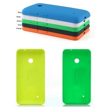 Best quality rear housing for Nokia lumia 530 back battery door cover cell phone Case for Microsoft lumia 530 +1x screen film