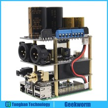 Raspberry Pi X20-XLR Hifi Audio Kit (X20-XLR ES9028Q2M Board + X10-I2S Board + X10-PWR Power Supply Board)(China)