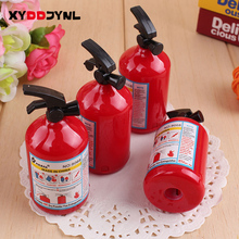 1 Pc Pencil Sharpener Kawaii Fire Extinguisher Shape Student Stationery for Kids Prizes Gifts Creative Papeleria