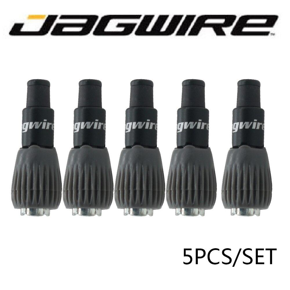 Jagwire Mini Inline Barrel Adjuster In Line 2 Pairs Black 4 pcs