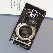 Vintage Twin Reflex Camera Print Soft TPU Phone Cases OEM For Samsung S3 S4 S5 S6 S7 edge plus Note 2 Note 3 Note 4 Note 5 Cover