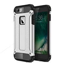 For iPhone 7 plus caus Shockproof phone case for iphone 5se rugged armor antiknock double protector Slim Hybrid Cover ( XX1221)
