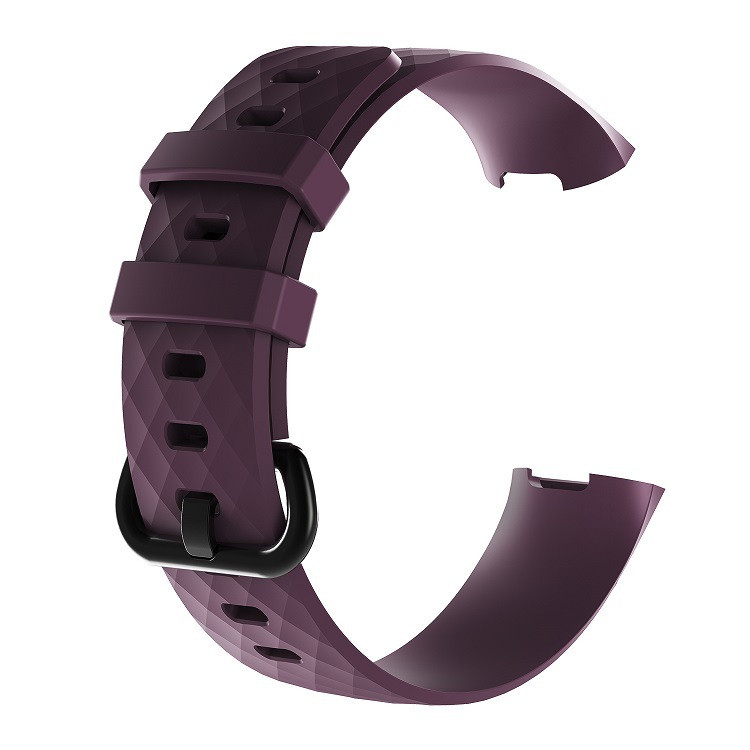 Waterproof Replacement Watch Strap for Fitbit Charge 3  Charge 3 SE Silicone Sport Band Wristband Large Small Women Men (16)