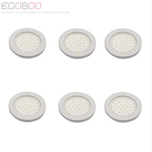 Modern 3W 12V LED Round Flat LED Bulb Lamps Lights 9.5-30v DC as Boat Caravan Lighting  Lamps (6pcs/lot) CE RoHS