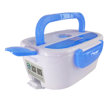 AHTOSKA 220V Portable Electric Heating Lunch Box  Food-Grade Food Container Food Warmer For Kids  4 Buckles  Dinnerware Sets (China)