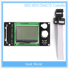 MKS Mini 12864LCD Controller Stand Inserted SD Card For Marlin(China)