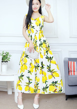 Women Dress 30 Styles Floral Print Work Business Casual Party Vestidos Free Shipping Long Maxi Dresses 149