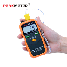 PEAKMETER PM6501 Professional LCD Display Wireless K Type Digital Thermometer Temperature Meter Thermocouple W/Data Hold/Logging(China)