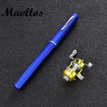 Mavllos  fishing rods pen 95cm for mini cam for ping travel fish pole reel