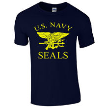 T Shirt Casual U.S. Navy Seals Retro Us Air Force Marines Fancy Dress Top Short Sleeve Men Fashion 2016 Crew Neck Tee Shirts