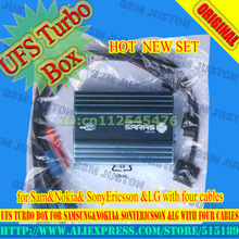 gsmjustoncct New UFS Turbo box for Samsung&Nokia& SonyEricsson &LG with four cables(China)