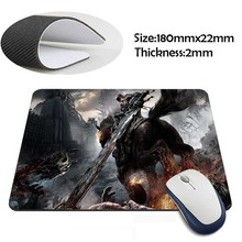 darksiders war Rubber Soft aming Mouse ames Black Mouse pad