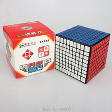 Shengshou 9 Layer Cubo Magico Black/White Speed Cube Twist Puzzle Educational Toy Gift Idea Free Shipping Drop Shipping(China)