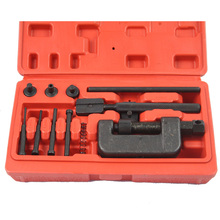 Professional Removal Motorcycle Chain Tool, Chain Breaker Riveting Tool Kit Cutter ATV,Bike,Motorcycle,Cam Drive(China)